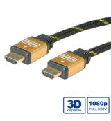 Roline Gold HDMI kábel+ ethernet M/M 15m